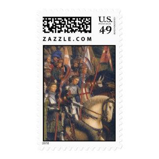 Caballeros de Cristo (Altarpiece de Gante) Franqueo