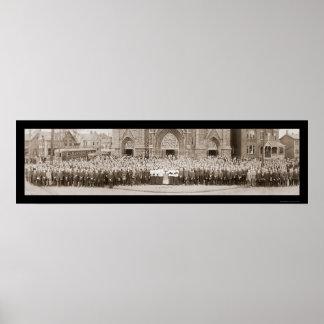 Caballeros de la foto 1914 de Columbus Impresiones