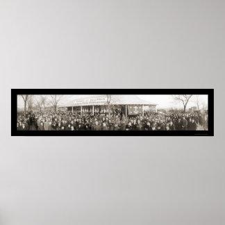 Caballeros de la foto 1919 de Columbus Impresiones