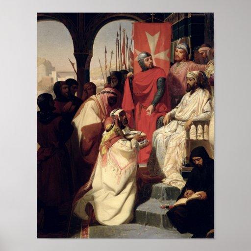 Caballeros de la orden de St. John de Jerusalén Poster
