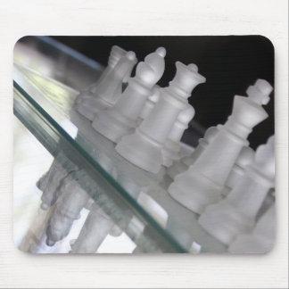 Caballeros de la tabla de cristal tapetes de raton