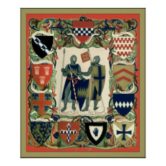 Caballeros del cruzado poster