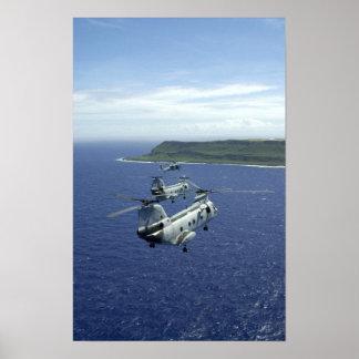 Caballeros del mar CH-46 Impresiones