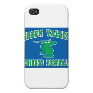 Caballeros del valle verde iPhone 4 funda