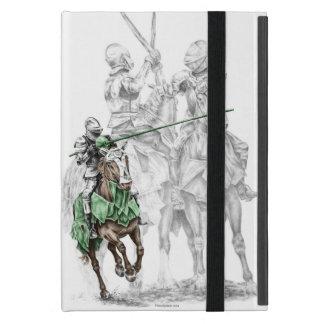 Caballeros medievales del renacimiento iPad mini funda