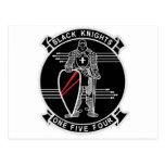 Caballeros negros VF-154 Tarjeta Postal