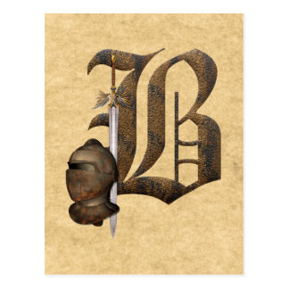Caballeros oxidados B inicial Postal