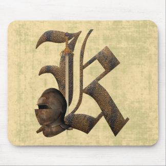 Caballeros oxidados K inicial Tapetes De Raton