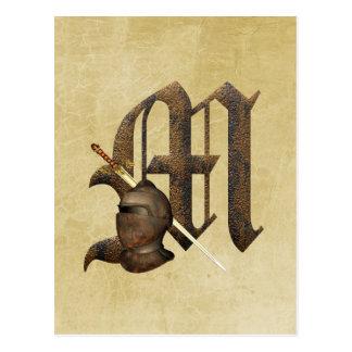 Caballeros oxidados M inicial Postal