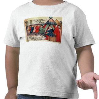 Caballeros que prometen su lealtad camiseta