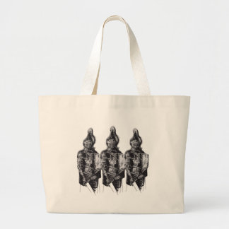 Caballeros sajones bolsa tela grande