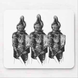 Caballeros sajones mousepad