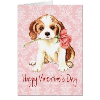 Caballeros subiós tarjeta del día de San Valentín