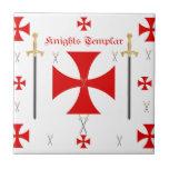 Caballeros Templar Azulejo Cerámica