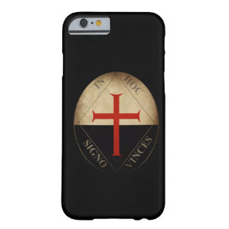 Caballeros Templar Funda Para iPhone 6 Barely There