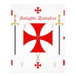 Caballeros Templar Plantilla De Membrete