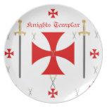 Caballeros Templar Platos De Comidas