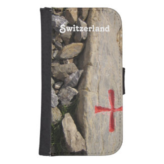 Caballeros Templar Suiza Fundas Tipo Billetera Para Galaxy S4