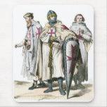 Caballeros Templar Tapete De Ratón