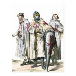 Caballeros Templar Tarjeta Postal