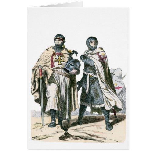 Caballeros teutónicos tarjetón