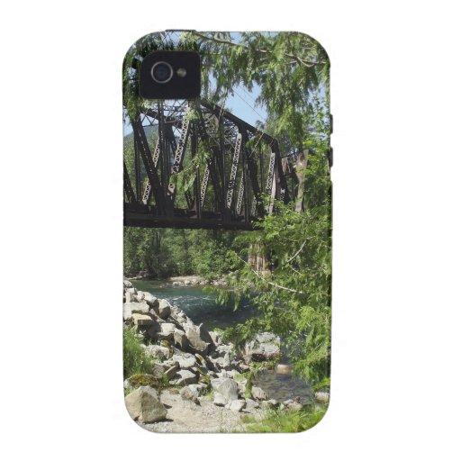 Caballete del ferrocarril iPhone 4/4S carcasa