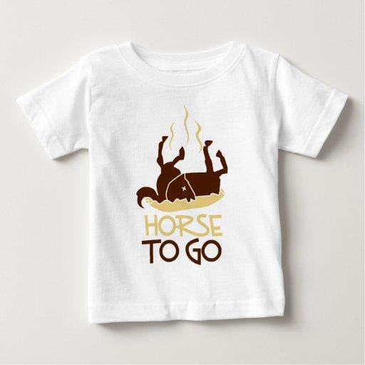 caballo a go.png playera para bebé