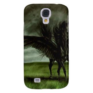 Caballo abstracto Pegassus de los diablos de la fa Funda Para Galaxy S4