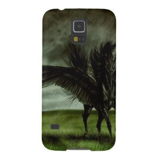 Caballo abstracto Pegassus de los diablos de la Fundas Para Galaxy S5