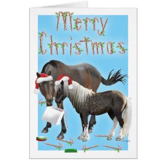 Caballo and Cisco Christmas Card