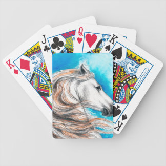 Caballo andaluz del semental baraja cartas de poker
