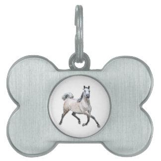 Caballo árabe - Alia Placas De Mascota