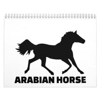 Caballo árabe calendarios de pared