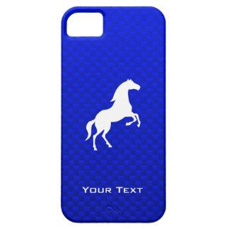 Caballo azul iPhone 5 funda
