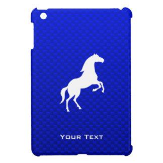 Caballo azul iPad mini cárcasas