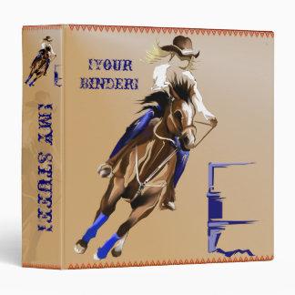"Caballo binder_15_back.v4. del barril carpeta 1 1/2"""