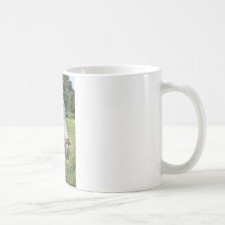 Caballo blanco taza de café