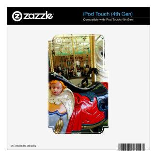 Caballo brillante calcomanías para iPod touch 4G