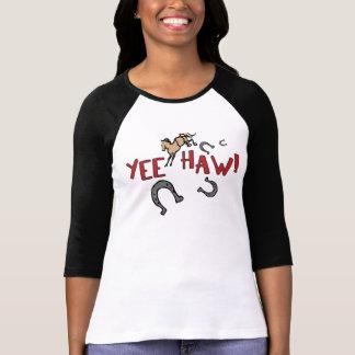 Caballo Bucking del Haw de Yee Playera