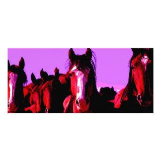 Caballo - caballos tarjetas publicitarias a todo color
