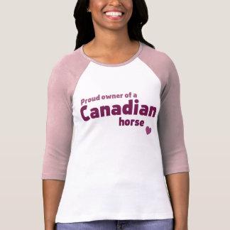 Caballo canadiense camiseta
