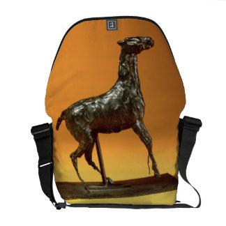 Caballo Caracoling (bronce) Bolsa De Mensajería