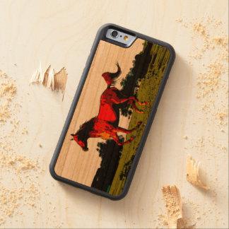 Caballo Funda De iPhone 6 Bumper Cerezo