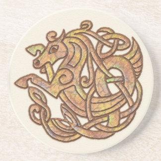 Caballo céltico posavasos personalizados