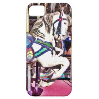 Caballo colorido del carrusel en los regalos de la iPhone 5 Case-Mate carcasas