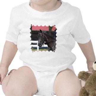 Caballo de bahía dulce traje de bebé