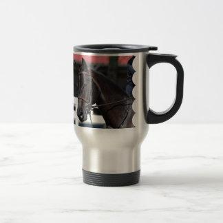 Caballo de bahía dulce taza de café