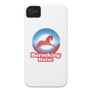 CABALLO DE BARACKING - .PNG Case-Mate iPhone 4 COBERTURA