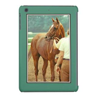 Caballo de carreras excelente afirmado 1978 funda de iPad mini