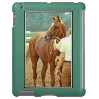 Caballo de carreras excelente afirmado 1978 funda para iPad